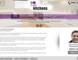 #8 for Design a Website Mockup for Kitchen Business by Design1993