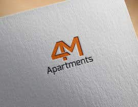 #128 for Design a Logo for 4M Apartments by mamunfaruk