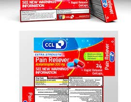 #49 for Label and Carton Design for Over the Counter Drug by Geeth979