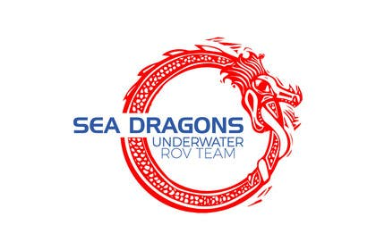 "#44 for Design a Logo for underwater ROV team called the ""Sea Dragons"" by LEDP0003"