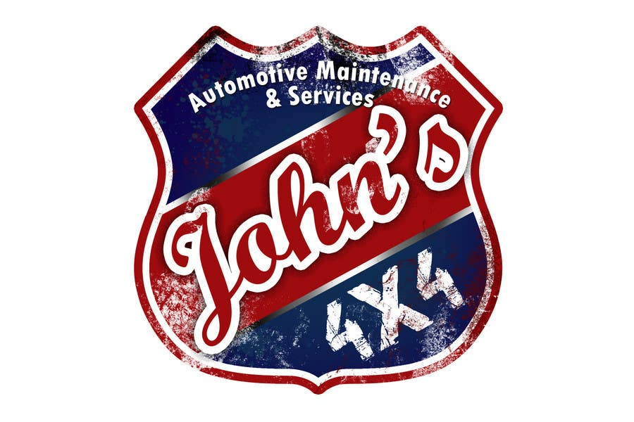 Inscrição nº 69 do Concurso para Logo Design for John's 4x4 Auto Center