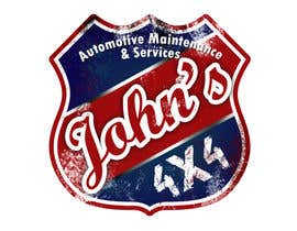 #69 для Logo Design for John's 4x4 Auto Center от rogeliobello