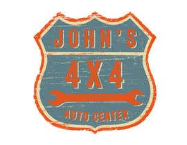 #34 для Logo Design for John's 4x4 Auto Center от GlenTimms