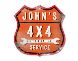 #83 для Logo Design for John's 4x4 Auto Center от GlenTimms