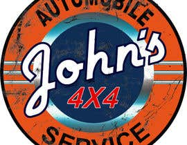 #93 для Logo Design for John's 4x4 Auto Center от PCRepairamedics