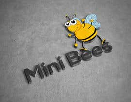 #84 for Design a Logo - The Hardworking Bee by humanlogo