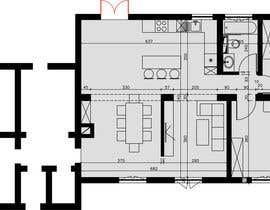#15 para Update floor plan in existing family home por gumenka