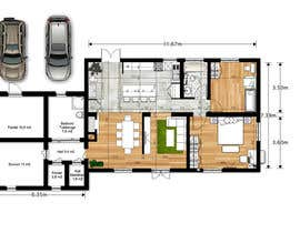 #18 para Update floor plan in existing family home por gumenka