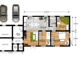 #25 for Update floor plan in existing family home by gumenka