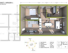 #12 for Update floor plan in existing family home by ScarpaMarco