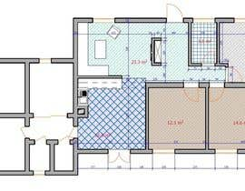 #21 for Update floor plan in existing family home by bekadanelishvili