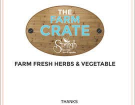 #33 for Design a Logo for Farm Crate by LogoExpert69