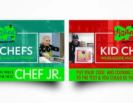 #1 for Design a Banner: Kid Chefs Who Code Hack-a-Thon by AkshayVerma9
