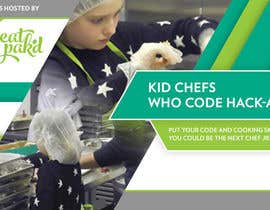 #3 for Design a Banner: Kid Chefs Who Code Hack-a-Thon by Trickmashup