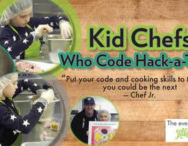 #6 for Design a Banner: Kid Chefs Who Code Hack-a-Thon by HeshamMoustafa