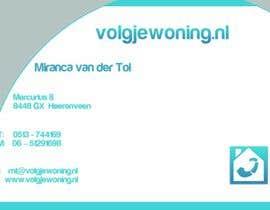 #38 for Ontwerp enkele Visitekaartjes for internet business volgjewoning.nl af elhajjar