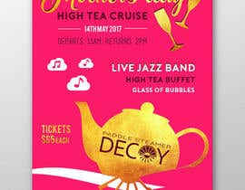 #23 for Design a Poster for a High Tea cruise on a Paddle Steamer by ofezaha