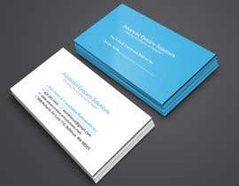 #111 for Design some Referral based Business Cards by raptor07