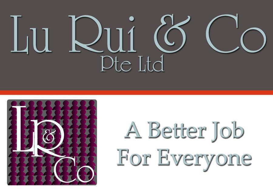 Inscrição nº                                         51                                      do Concurso para                                         Logo Design for Lu Rui & Co: A Better Job for Everyone