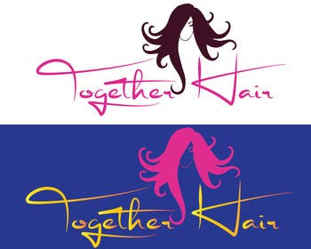 #58 for Together Hair needs a logo by fastdesigne