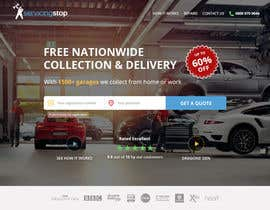 #223 for Landing page for car servicing company - Web design by denitsadimitrova
