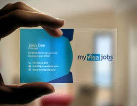#125 for 1 business card(already has logo) by sujan18