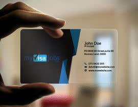 #129 for 1 business card(already has logo) by sujan18