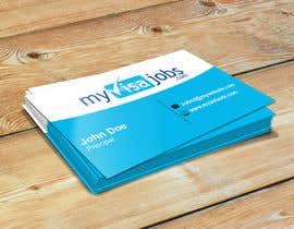 #131 for 1 business card(already has logo) by Munna01777