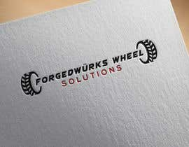 #9 for Forgedwürks Wheel Solutions Logo by Rubel88D