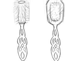 #22 for Design a Hair Brush Handle by OreoPenguin
