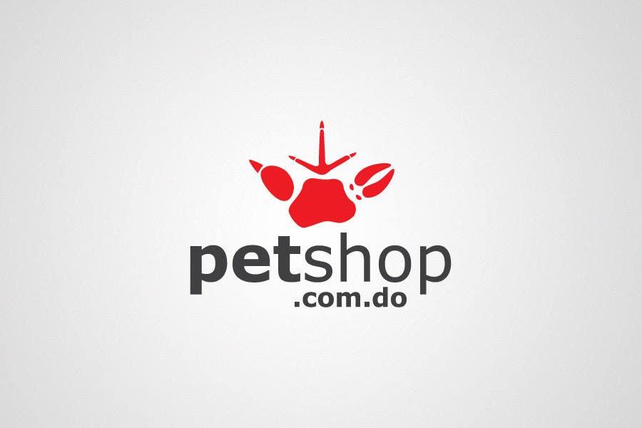 Penyertaan Peraduan #534 untuk Logo Design for petshop.com.do