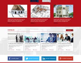 #46 for Design a Website Mockup for an Office Condominium Website  Redesign by bddesign9