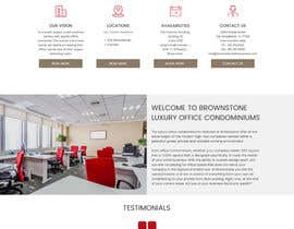 #34 for Design a Website Mockup for an Office Condominium Website  Redesign by saurmathur