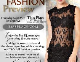 zinebzeno tarafından Fall Fashion Preview Promotional Flyer & Postcard için no 12