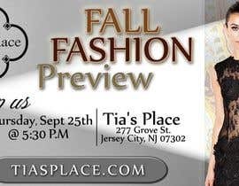 zinebzeno tarafından Fall Fashion Preview Promotional Flyer & Postcard için no 13