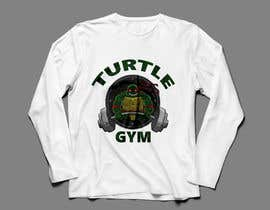 #45 for Design a T-Shirt Design for Gym Turtle by FARUKTRB