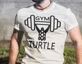 #52 for Design a T-Shirt Design for Gym Turtle by RafeursDesign