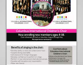 #43 for Design a Classy Professional-Looking Flyer for the Premier American choir by WillPower3
