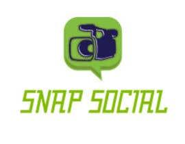 #30 for Design a Logo - SNAP SOCIAL by bineetdav2226