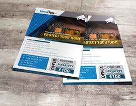 #6 for Design a two side A5 Flyer for home security installation company by wephicsdesign