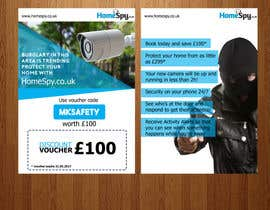 #10 for Design a two side A5 Flyer for home security installation company by sairalatief