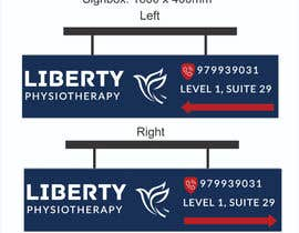 #83 for Design a Lightbox sign for our physiotherapy clinic by WillPower3