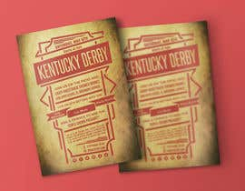 #9 for 11x17 Graphic for Kentucky Derby Party by meenapatwal