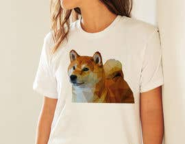 #125 for Design an awesome stylised Dog T-shirt by BryanGarban