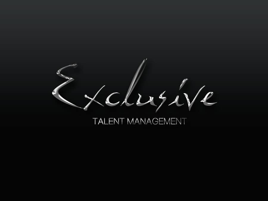 "Konkurrenceindlæg #50 for Logo Design for ""Exclusive"" Talent Management"