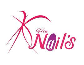 #69 for Hla Nails logo by mohammadArif200