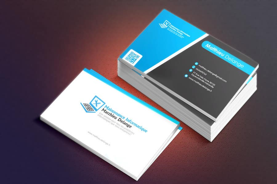 Contest Entry 4 For Business Cards Computer Repair