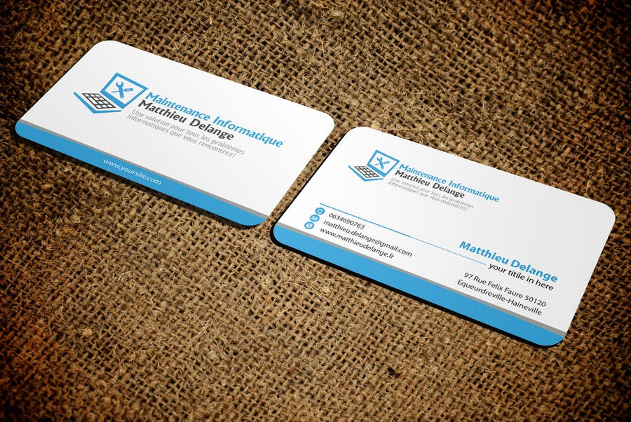Entry #20 by mamun313 for Business cards computer repair | Freelancer