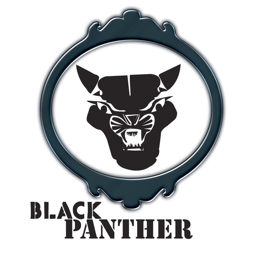 Entry #18 by bulbuliislam45 for Vector Black Panther face ...