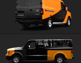 #62 for Vehicle Wrap for 2005 Ford E-150 Van by vinayvijayan